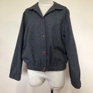 Vintage Wool Blend Jacket Size10 Made In Australia